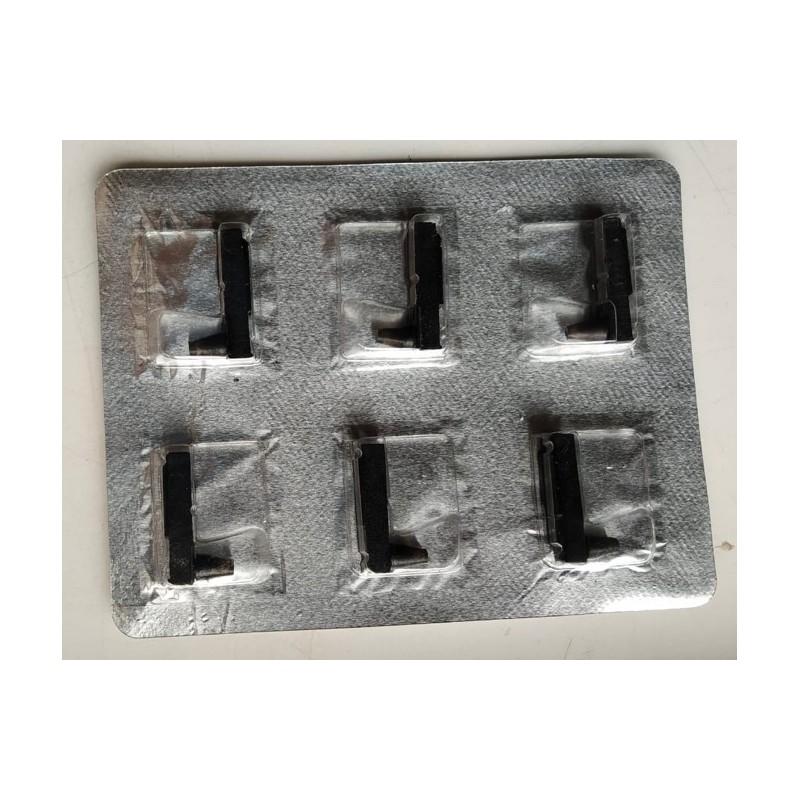6 x Stylos pointe fibre couleur VIOLET