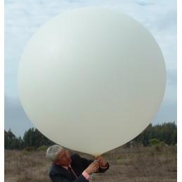 Ballon météorologique 500 grammes - couleur blanc