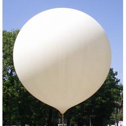 Ballon météorologique 1500 grammes - couleur blanc 90,00€